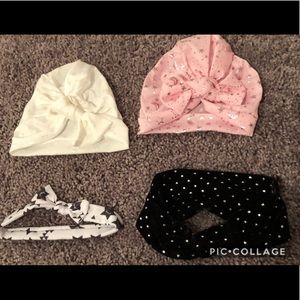Other - Infant baby girl bows/ hats
